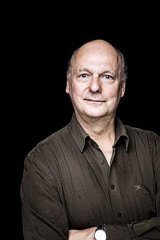 Porträt des Schauspielers Werner Klockow.
