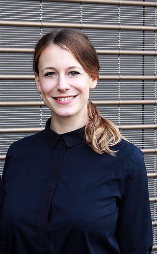 Porträt der Regisseurin Anna Elisabeth Frick.