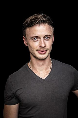 Porträt des Schauspielers Tony Marossek