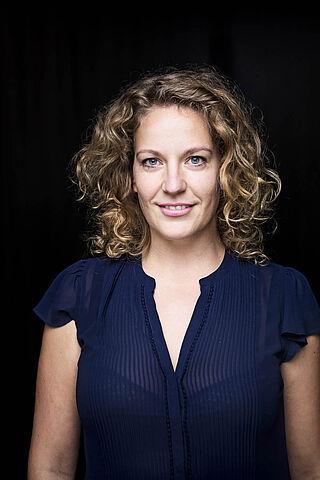 Porträt der Schauspielerin Isabel Baumert.