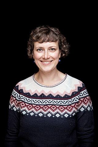 Porträt der Dramaturgin Kerstin Daiber.