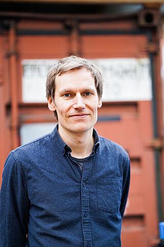 Porträt von Christian Hake, Schlagzeuger von Kettcar