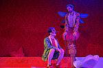 Simon Burghart als Pinocchio und Sebastian Kreuzer als Francio mit Feenflügeln