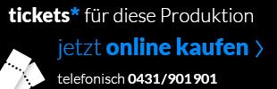 Ticktets für Rigoletto telefonisch unter 0431/901901 oder online kaufen